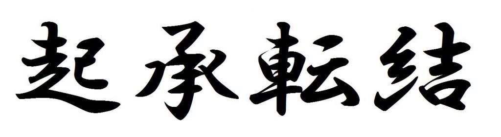 Japanese Traditional Method: Ki-Sho-Ten-Ketsu