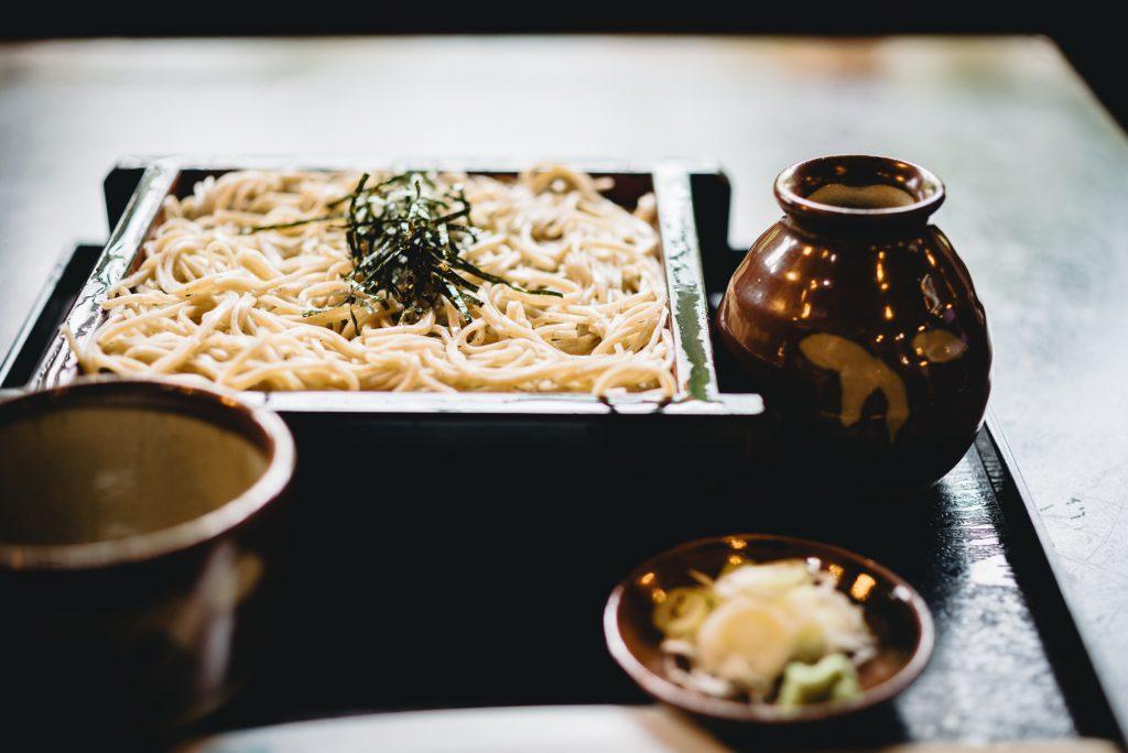Japanese Soba Noodle Dish